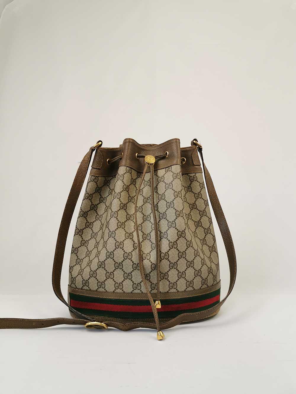 Gucci Ophidia Bucket Shoulder Bag Vintage Handbag